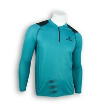T-SHIRT RUNNING COOLPLUS LONG SLEEVE ZIP TYPHOON TALLA M