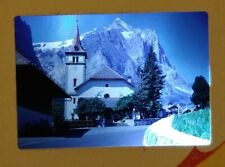 30 35mm projector slides. Amateur Family holiday to Switzerland mid 1960s