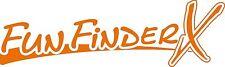 Fun Finder X Decals RV sticker decal graphics trailer camper rv fun finder Large