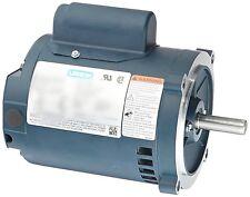 Leeson Electric Motor E100024.00 1/3 HP 1800 Rpm 1-PH 115/230 Volt S56C Frame