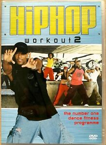 Hip Hop Workout 2 DVD Street Dance Exercise / Fitness Keep Fit Routine