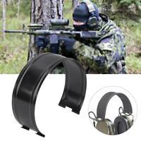 Z016 Black Alloy Outdoor Headset Cover Headband Kit for Comtac Series Headset