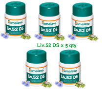 Liv 52 DS Livercare 5 Bottiglie Fegato Riparazione Vitamine Himalya Herbal Exp