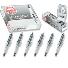6 pcs NGK V-Power Spark Plugs for 2007-2009 BMW 328i 3.0L L6 - Engine Kit kv