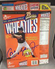 """1995 Cal Ripken Jr. """"2131 Consecutive Games"""" Wheaties Large 1lb, 2 oz Box Bal"
