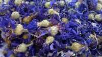 100 Gram Certified Organic Whole Blue Cornflower - Centaurea Cyanus - Free Post