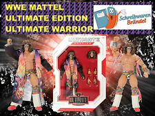 WWE MATTEL ELITE ULTIMATE EDITION SERIE ULTIMATE WARRIOR WRESTLING ACTION FIGUR