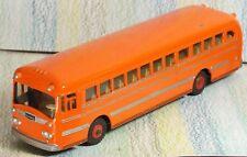 Dinky Supertoys orange Wayne School Bus #949 black tyres, red hubs NM no box