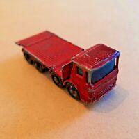 No.10 Matchbox Leyland Pipe Truck Ergomatic Cab 1966-1969 Scale 1:92