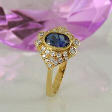 Unbehandelte Ringe mit Diamant 59 (18,8 mm) Ø echten Edelsteinen