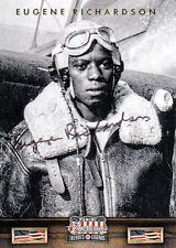 Eugene Richardson,Jr. (USA) Tuskegee Army Pilot original signiert/signed !!