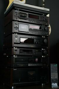 Sony ES Series SET 55ES 1000ESD TC-K870ES AND  DTC57ES TA-N80ES AND MORE