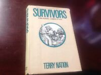 Survivors By Terry Nation, 1st American Edition Hc, 1976, Minor Cover Wear, Rare