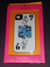 Kate Spade Queen of Spades Poker Card Hybrid Hardshell iPhone 4/4s Cover Case