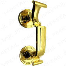 LARGE DOCTOR DOOR KNOCKER ~HEAVY SOLID BRASS~ Quality Classic Traditional Finish