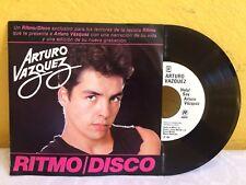 "ARTURO VAZQUEZ RITMO DISCO POPURRI  MEXICAN 7"" SINGLE PS POP EN ESPAÑOL"