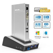 Wavlink USB 3.0 Aluminum Universal Docking Station with HDD & SSD Enclosure Base