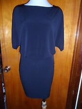 Victoria's Secret Moda International Cut Out Cold Shoulder Matte Jersey Dress L