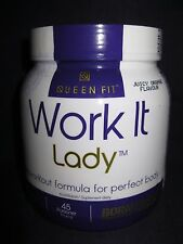 OLIMP QUEEN FIT WORK IT LADY PRE-WORKOUT BCAA L-CARNITINE FOR WOMEN FREE P&P