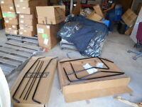 Kimpex Black Frame Booth W/ Mounting Kit 981-220-06 072298