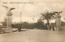 Libia - Bengasi, militare e ingresso principale al campo di aviazione - 1929