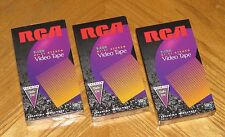 Sealed RCA T-120 Hi-Fi Stereo Video Tape Premium Daily Use 6 Hours VHS Blank Lot
