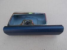 BMW E32 E34 535i Front Ashtray with BLUE Front Covering Parts 9061175, 8138082