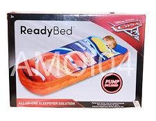 Disney Cars 3 Rust-eze Boys Ready Bed Kids Sleeping Bag Air Mattress New