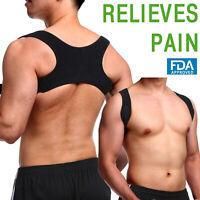Posture Corrector Shoulder Upper Back Brace Straight Support Adjustable Belt US