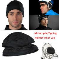 Moisture Wicking Cooling Skull Cap Beanie Dome Inner Liner Helmet Sweatband-RO