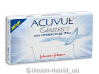 Acuvue OASYS Hydraclear PLUS 1×6  BC 8.8  Non-Stop-Linsen 2-Wochenlinsen !