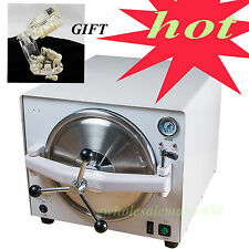 18L stainless steel 304 Dental high Pressure autoclave Sterilizer w tooth model