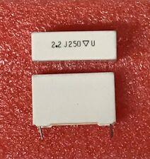 2.2uF 250V 5% Metallized Polyester Film Capacitor Radial 160225J250P Mallory⚡