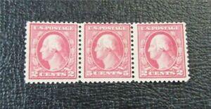 nystamps US Stamp # 505 Mint OG H $350 Color Error Washington   J8x1874