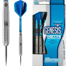 Harrows Genesis Darts Set Steel Tip Tungsten Style B 22g 24g 26g grams