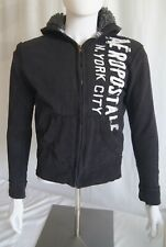 Vintage Aeropostale black ladies zip up hoodie.  XS/TP