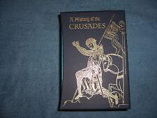 A HISTORY OF THE CRUSADES by Steven Runciman/Folio/3 Vols./HC/History/World