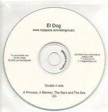 (52J) El Dog, A Princess A Monkey The Stars & Th- DJ CD