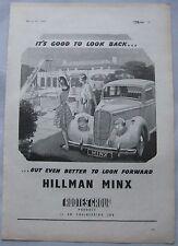 1945 Hillman Minx Original advert No.3