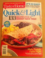 Taste of Home Quick & Light 2014 FREE SHIPPING, 133 Recipes For A Skinny You