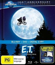 E.T. - The Extra Terrestrial (Blu-ray, 2012, 2-Disc Set)