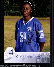 Rumanatu Tahiru Tennis Borussia Berlin Top Foto Original Signiert +A49796