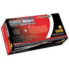 Microflex NO-123M Nitron One Powder Nitrile Gloves - Medium, 10 Boxes