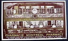CANADA~ PHARMACIE MONTREAL PHARMACY~ WORLD'S LARGEST