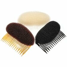 Brown BUMP IT UP Volume Inserts Do Beehive hair styler Insert Tool Hair Comb