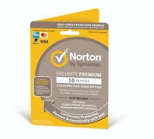 Norton Security Premium 2021, 10 Devices + 25GB Backup 1 Year -Email Product Key
