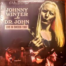 "JOHNNY WINTER with DR. JOHN - LIVE IN SWEDEN 1987 "" NEW, SEALED """