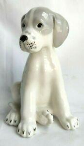 Vintage USSR Lomonosov, Russian Puppy Dog Ornament Figurine