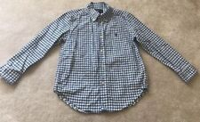 Ralph Lauren Polo Boys Button Down Gingham Check Shirt Size 6