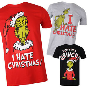 The Grinch Mens- Christmas Collection - T-shirts - Multicolored